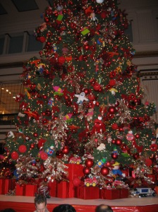 Tree in Walnut Room