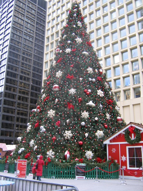 Chicago Christmas Tree-2008
