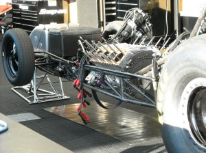 Unfinished Funny Car Chassis