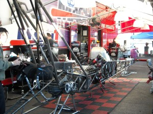 Unassembled Dragster