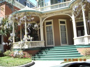 Wisteria Laden Home in Savannah, GA