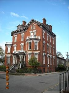 Pre-Civil War Funeral Parlor