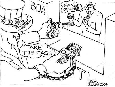Cartoon: Take the Cash
