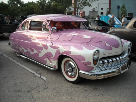 1950 Mercury Coupe with Sculpted Hood and Fenders