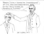 Honest Abe Chastises Barack