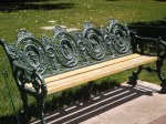 Lions Club Bench on the Green