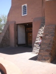 Entrance to San Miguel Mission Church