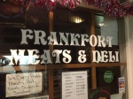 The Frankfort Deli in the Trolley Barn. The Deli is one of the oldest businesses in town run by a Mom and Pop.