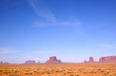 Monument Valley Near Kayenta, Arizona