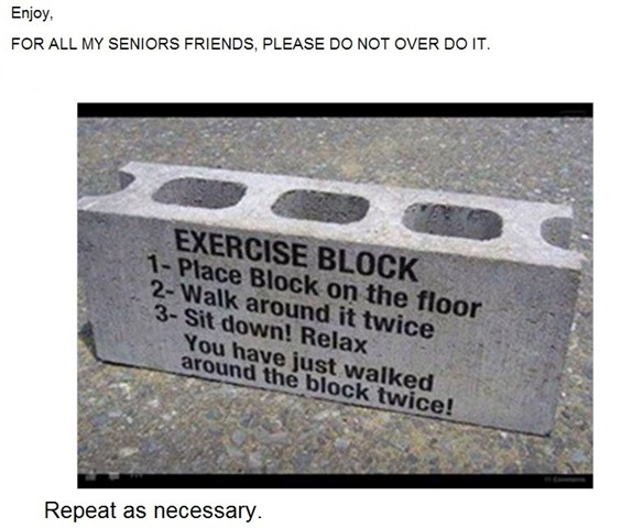 2 worthwhile excuses to exercise