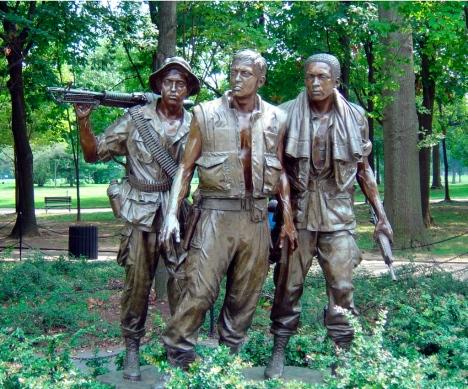 Vietnam Memorial Statue, Washington D.C.