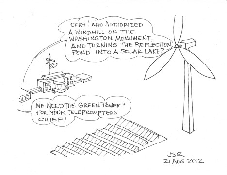 Green Power For The White House