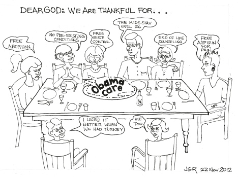 Thanksgiving Obama Style