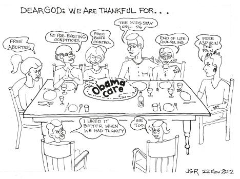Thanksgiving Obama Style