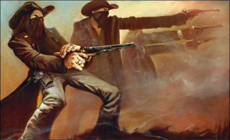 Gabe-leonard-2009-the-shootout-western-art