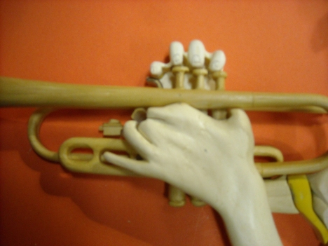 Hand and Valve Detail