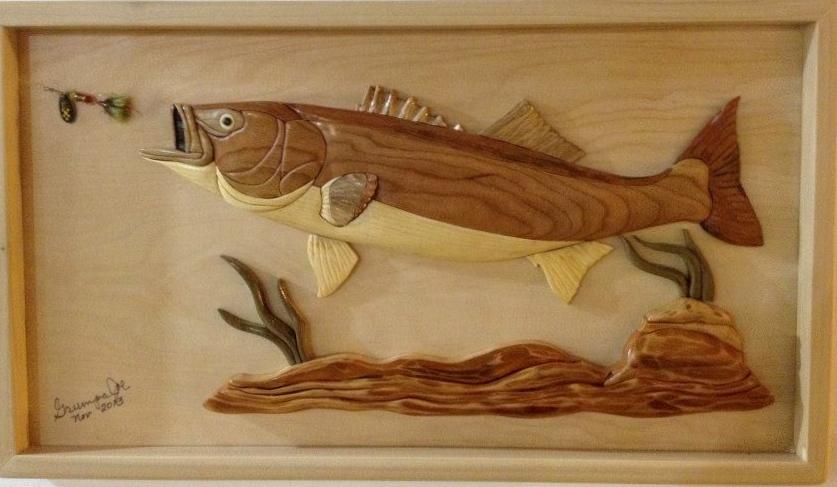 был даже картинки рыб для вырезания по дереву средней полосе севере