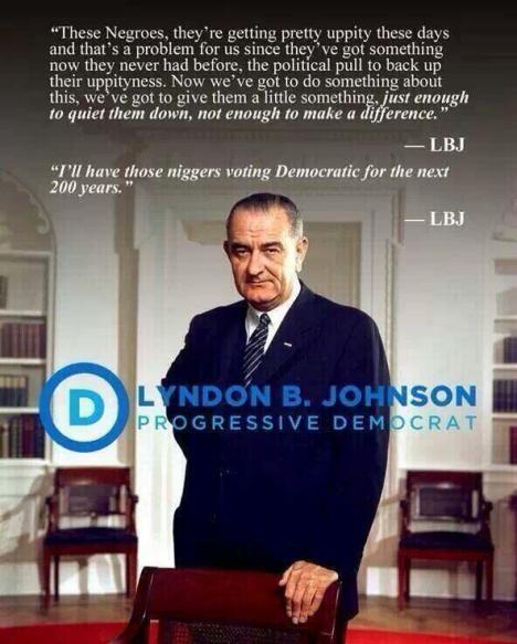 LBJ racist2