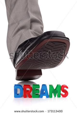 stock-photo-businessman-foot-about-to-tread-on-someone-s-dreams-concept-for-broken-dreams-bullying-or-173113400