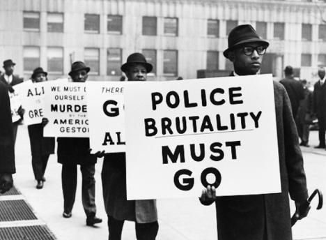 Black-Muslim-protest-vs-police-brutality-Gordon-Parks-1963