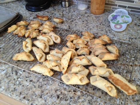 Hungarian Crescent Cookies (Kiflik)