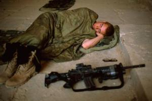soldier-sleeping